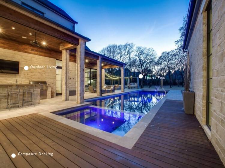 Texas Pools is nationally recognized for their excellence in the pool  industry and is a winner of over 200 awards for design and technical  achievement