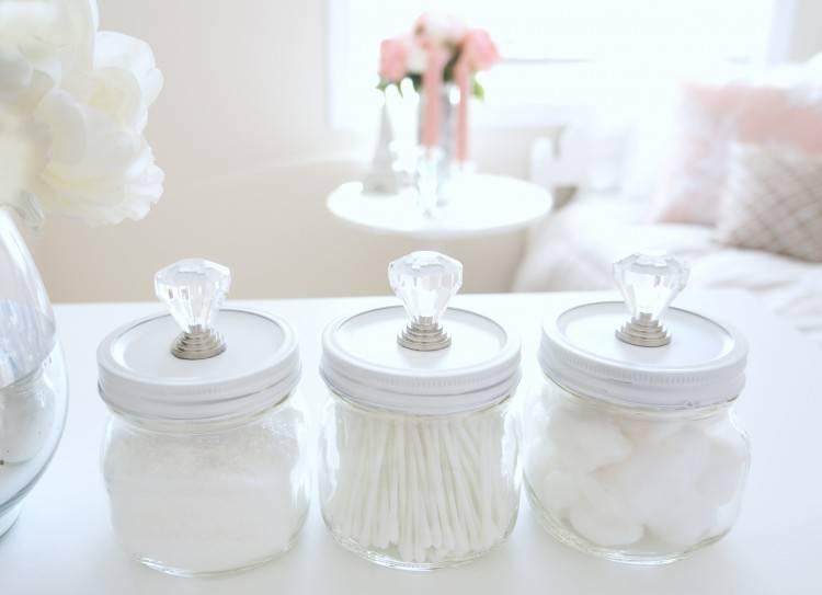 bathroom jars ideas bathroom storage ideas with mason jars apothecary jars  bathroom ideas