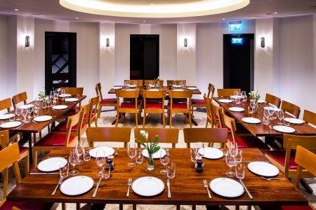 Jamie's Italian: Private Dining room in the old bank vault