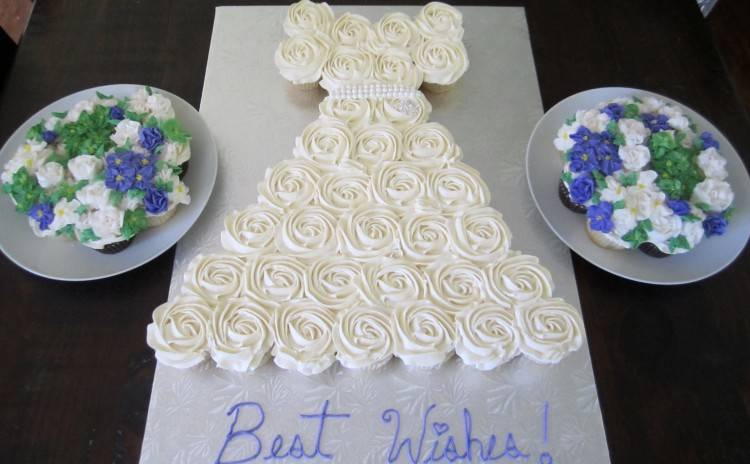 Bridal Shower Wedding Trio