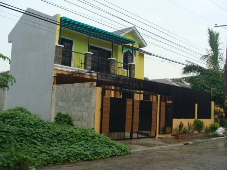 Modern 2 Storey House Design With Roof Deck Archives regarding 2 Storey  Small House Design With
