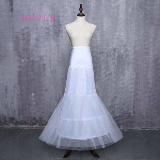 New Wholesale In Stock Wedding Petticoat One Piece Undergarment Slip  Underskirt Crinoline For Bride Underskirt Wedding Accessory Zahy594  Halloween