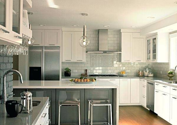 gray kitchen backsplash white gray marble tile kitchen backsplash ideas for gray  cabinets