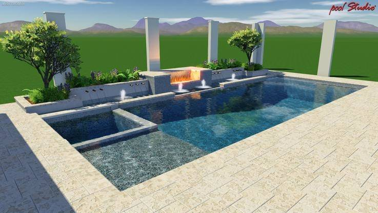 They are details that can enhance the primary design concepts of your pool