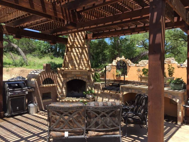 Let Regal Pools complete  your outdoor retreat with a custom outdoor fireplace or fire pit