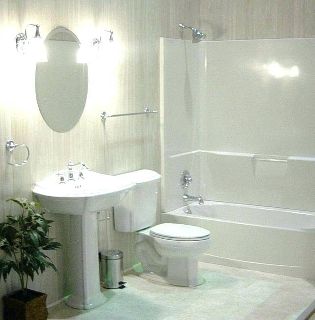 Finally, a nice simple design for an 8 x 5 bathroom, the size many of us  have
