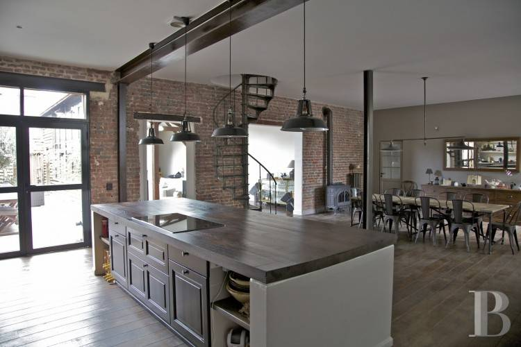 Modern Industrial  Country Kitchen Range Style Ideas