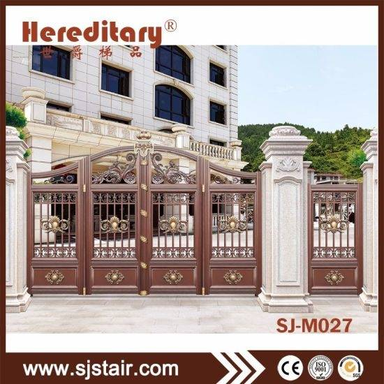 Latest Paint Colour Trends Of Gates 2017 Including Modern House Gate Color  With Iron Fence Pictures