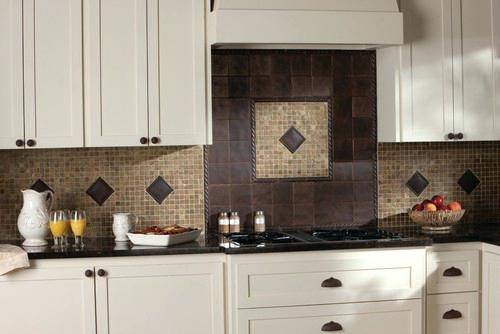 Make a White Subway Tile Temporary Backsplash with removable wallpaper