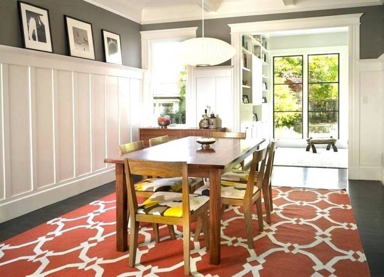 wainscoting in dining rooms
