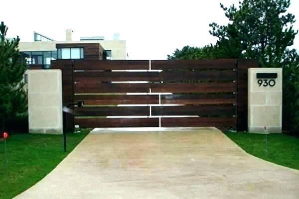 house fence ideas