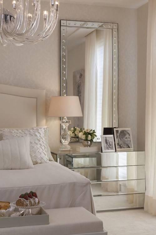 stylish bedroom inspiration and nightstand decor floating