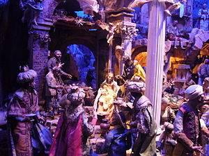 outdoor nativity figures