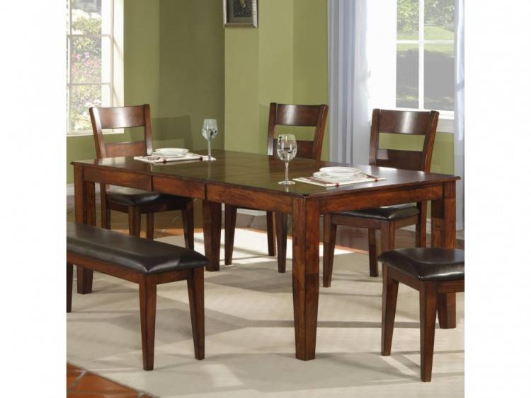 mango  wood dining furniture friendly table