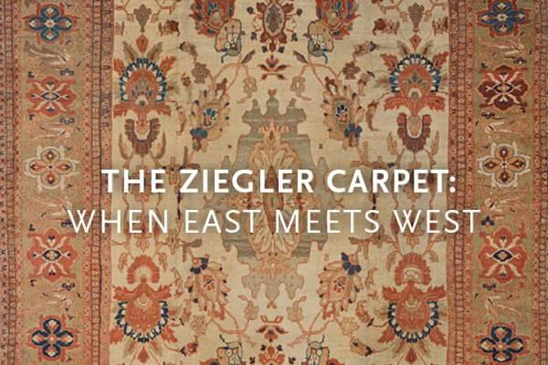 For more than a century the name Ziegler has been a label of quality,  synonymous with a highly decorative yet subtle Persian carpet