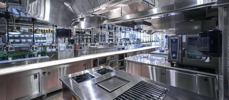 restaurant pizzeria kitchen design  