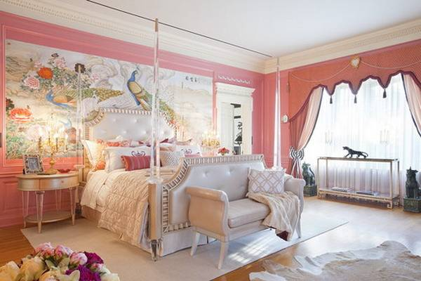 Romantic Bedroom Interior Pink Romantic Bedroom Designs