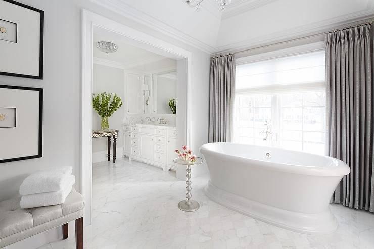gray white bathroom small
