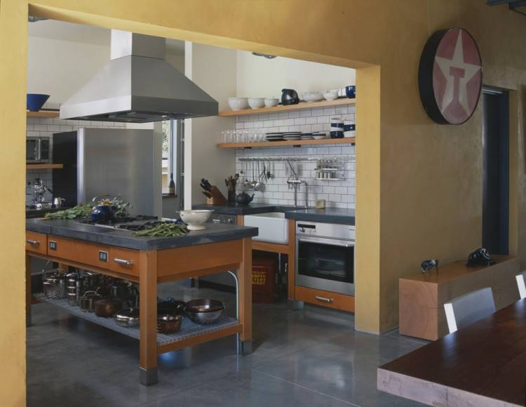 [Kitchen Design] Country Industrial Rustic Kitchen Industrial
