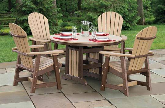 DWL Burlington Swivel Rocker Patio Chair DWL Burlington Patio Dining Set