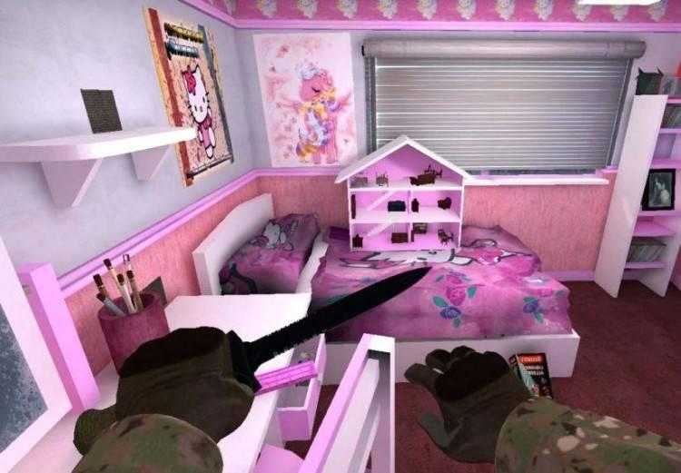Rug Rugs Living Room Bedroom Polka Dot Black 7'