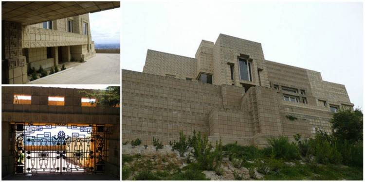 Metal Maniac — Ennis House designed by Frank Lloyd Wright(1923)