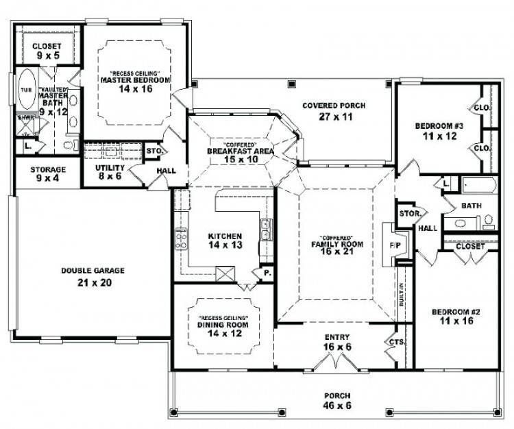 house plan ideas simple 3 bedroom house plans floor plan design single  story open floor plans
