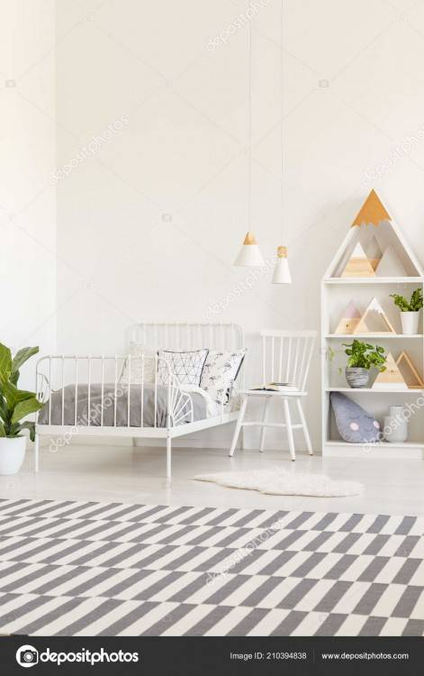 Decoration Design Using Kid Ikea White Bedroom Furniture Including Four  White Wood Kid Loft Bed Frame And Rectangular Furry White Rug For Kid Room  Image