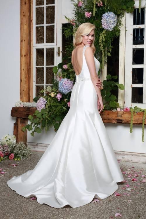 Said Mhamad 2017 New Ball Gowns Wedding Dresses Sheer Jewel Neck Tiers  Tulle Arabic Vestido De Novia Charming Bridal Gowns Custom Tea Length Wedding  Dresses