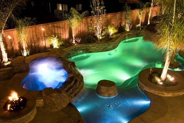 outdoor lighting around pool lighting engaging pool landscape ideas amazing  above outdoor lighting