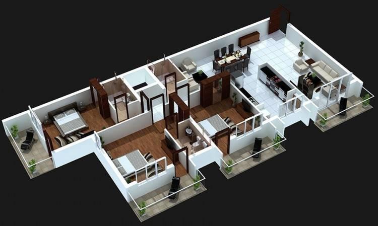 floorplan preview · 4 bedroom | Franklin house design