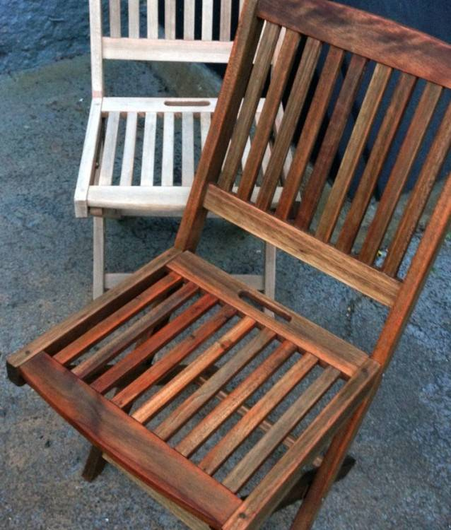 refinishing teak furniture outdoor