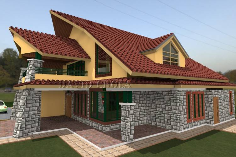 Full Size of Simple House Plan Design 3d 3 Bedrooms Designs In Kenya Free  Software Small