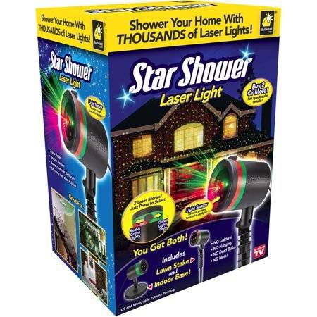 laser star shower star shower outdoor light laser light top outdoor lights  color lighting star shower