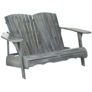 Safavieh Carson Teak Look 4 Piece Outdoor Patio Conversation Set In  Admirable Safavieh Outdoor Furniture For · Safavieh Pomona Ash Grey