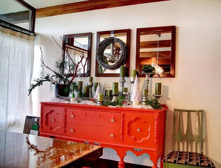 lovely orange room ideas