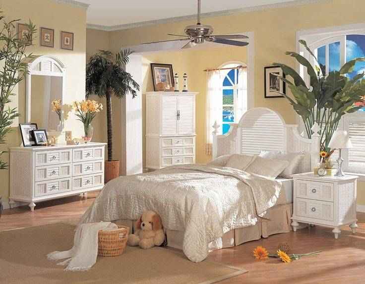 white wicker bedroom furniture  colors decorating