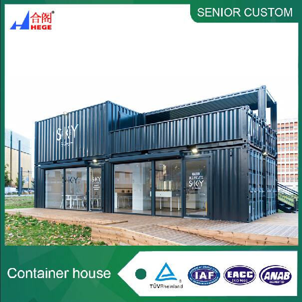 Elegant Container Homes Architecture For Modern Lake House Using Brown  Wooden Exterior Wall | Large