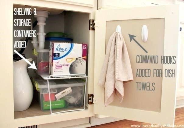 organizing under sink bathroom storage under sink under bath cabinet storage  organizing under kitchen sink pinterest
