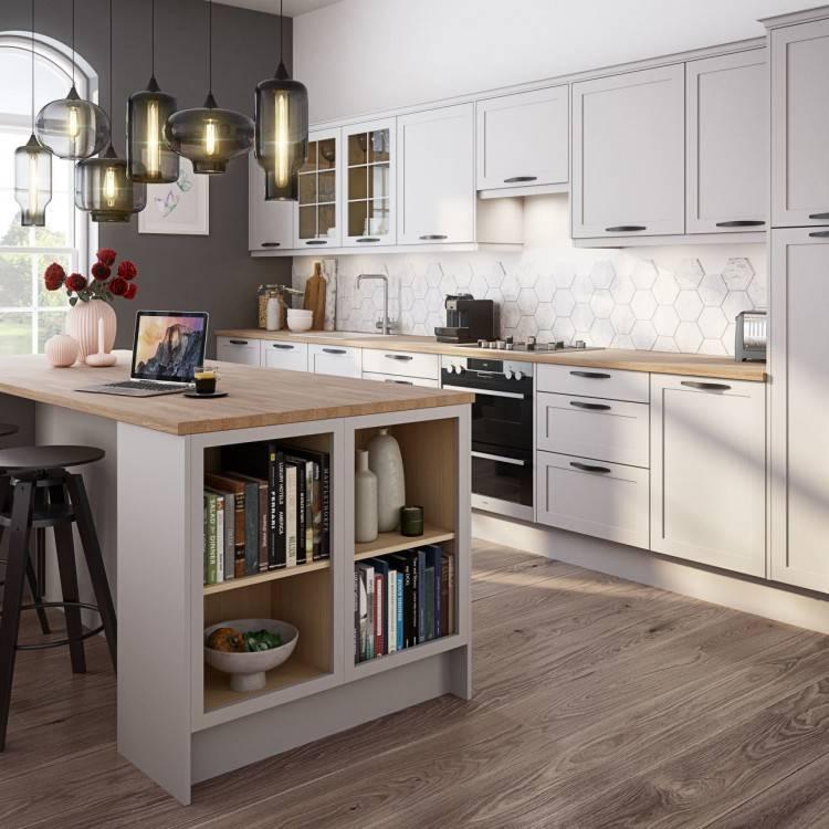grey and black kitchen ideas galley kitchen ideas a large grey and black  kitchen with an