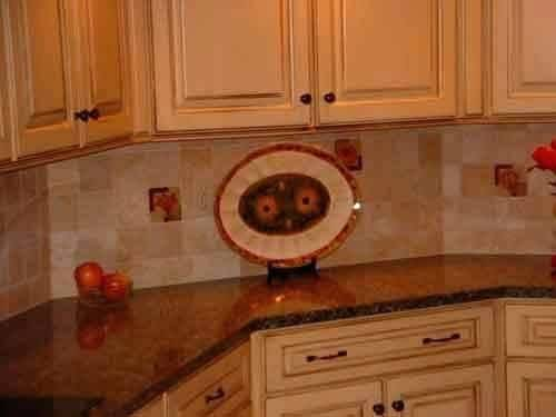 They are easy to match with other materials of the design like cabinets,  countertops and floor etc