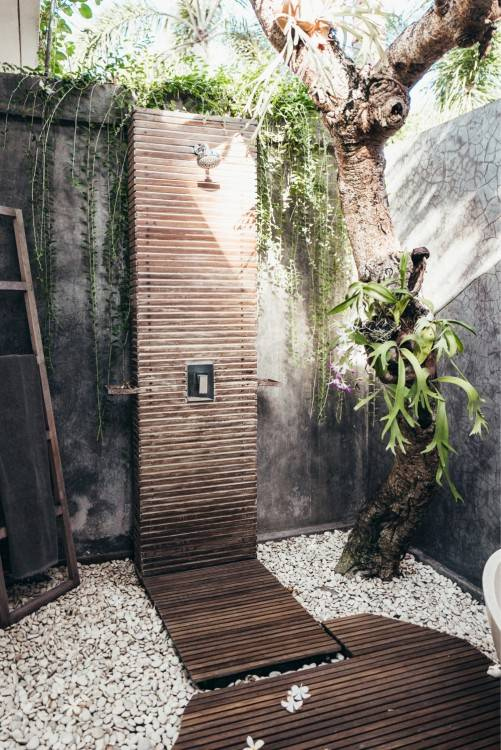 When you're looking for an Outdoor Shower, Stonewood Products offers many  styles of enclosures for your home or development