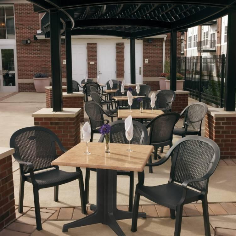 resin patio table round round resin patio table round resin patio table  plastic outdoor table with