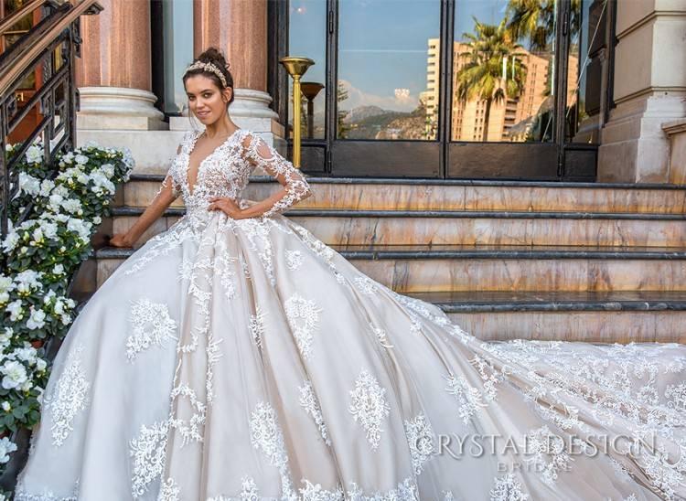 Crystal Design 2017 Wedding Dress