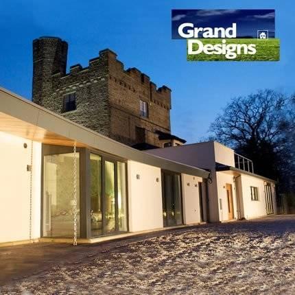 Cruck framed cottage! Contemporary design meets medieval