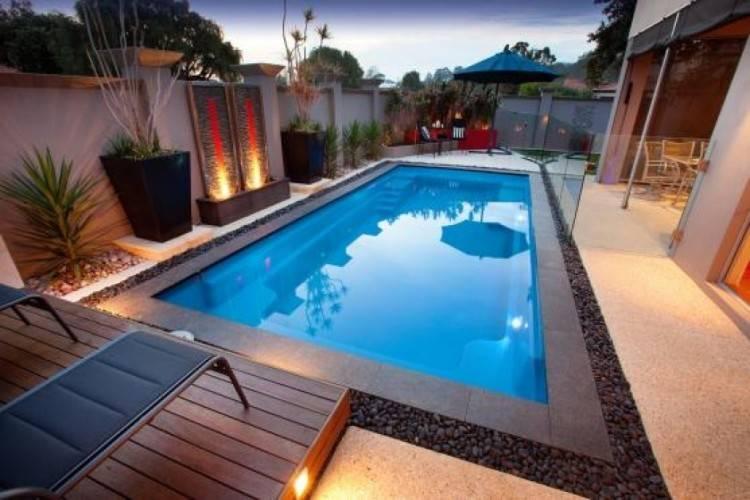 swimming pool ideas for backyard modern simple swimming pool design