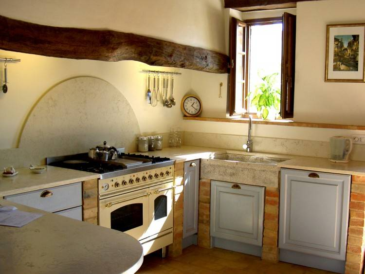 kitchen counter decorating ideas
