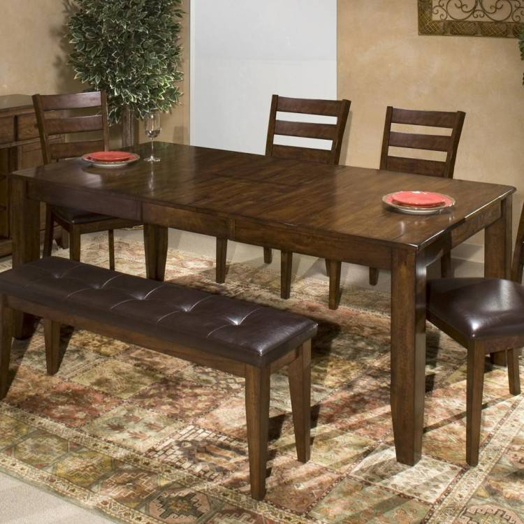 The dining set, comprising of dining table and chairs