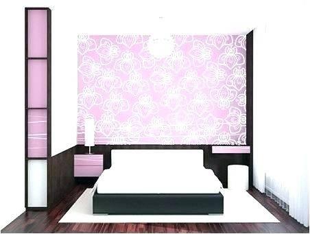 bedroom stencils designs