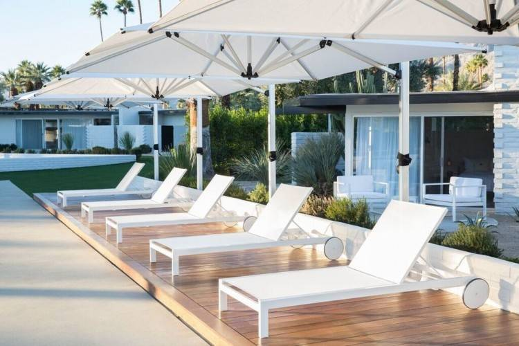 Palm Springs Patio Furniture Cozy Design 4 LHorizon Hotel